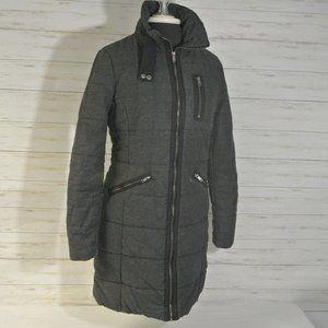 H&M H & M Sz. 6 Small Women Charcoal Gray Jacket